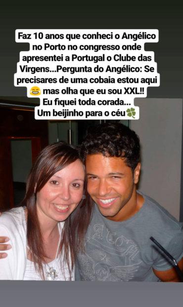 Untitled 1 Margarida Menezes Revela Proposta De Angélico Vieira: &Quot;Olha Que Eu Sou Xxl&Quot;
