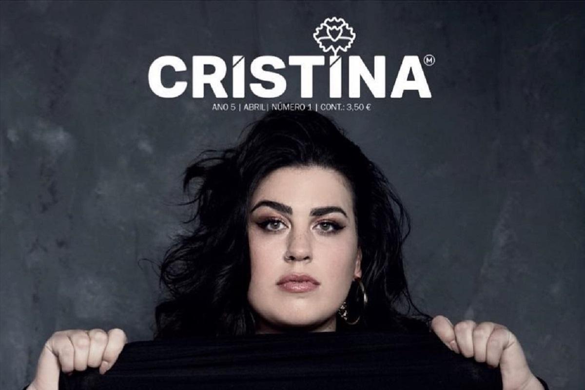 Catarina Corujo Capa Revista Cristina 1 Estabelecimentos Comerciais Evitam Expor Polémica Capa Da Revista 'Cristina'