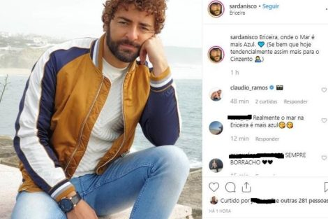Diogo Faria Afinal, Onde O Mar É Mais Azul? Onde Está Cristina Ferreira Ou Namorado De Cláudio Ramos?