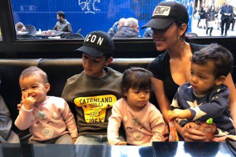 Georgina Roddríguez Georgina Rodriguez Partilha Momento Divertido Com Os Gémeos
