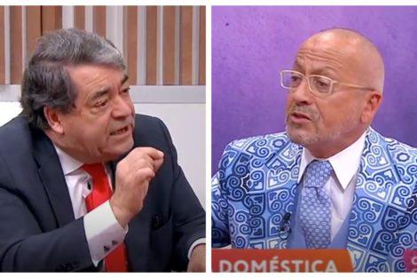 Marinho Pinto Manuel Luis Goucha Bronca! Goucha E Marinho E Pinto 'Pegam-Se' Durante O 'Você Na Tv'
