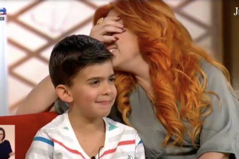Monica Sintra Julia Filho &Quot;E Se Tiveres Uma Irmã?&Quot; Filho De Mónica Sintra Dá Resposta Hilariante Em Direto Na Sic