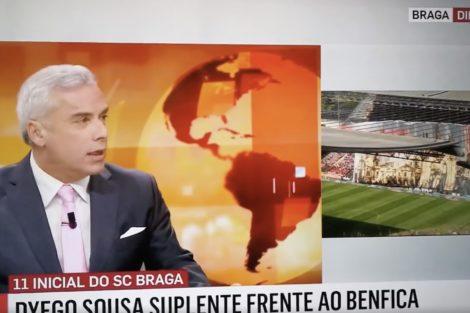 Sic Noticias Jornalista Braga Insólito! Jornalista Da Sic Notícias Confunde Monumentos Bracarenses Com... Lisboetas