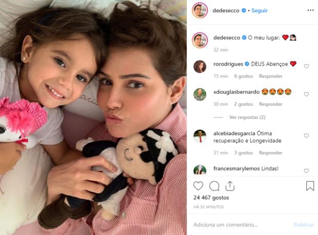 9 6 Deborah Secco Já Recebeu Alta Do Hospital: &Quot;Agora É Repouso Em Casa&Quot;