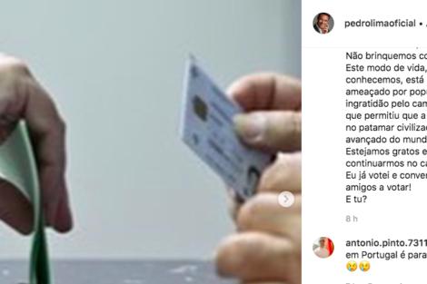 Captura De Ecrã 2019 05 26 Às 17.59.31 Famosos Incentivam Ao Voto Nas Eleições Europeias. Descubra Quem Já Votou!