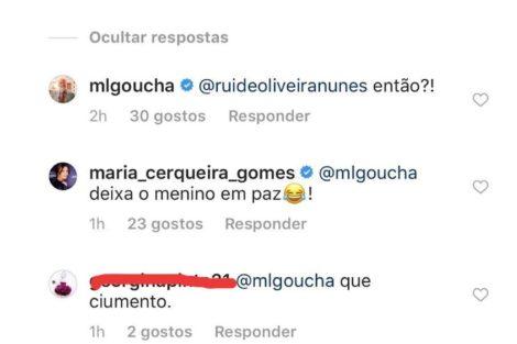 Mensagem Ciúmes? Rui Oliveira Comenta Fotografia De Maria E Goucha Reage: &Quot;Então!?&Quot;