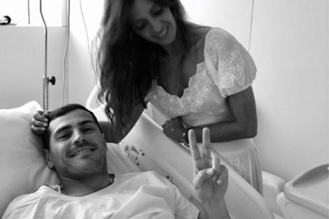 Iker Casillas Sara Carbonero Sara Carbonero Sobre Recuperação De Casillas: &Quot;Vai Ter Uma Vida 100% Normal&Quot;