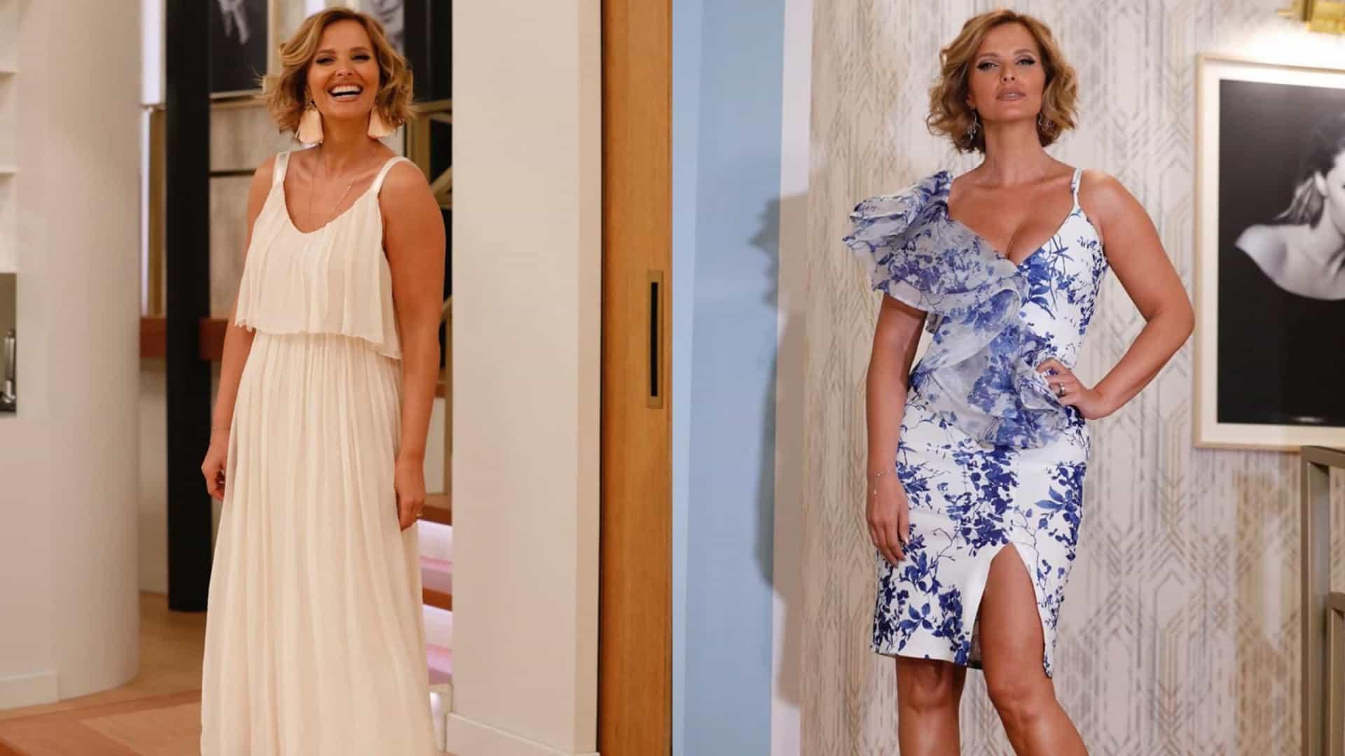 Naom 5Ced3Dd8653De Cristina Ferreira: Floral Ou Nude, Qual O Visual Que Fica Melhor Na Apresentadora?