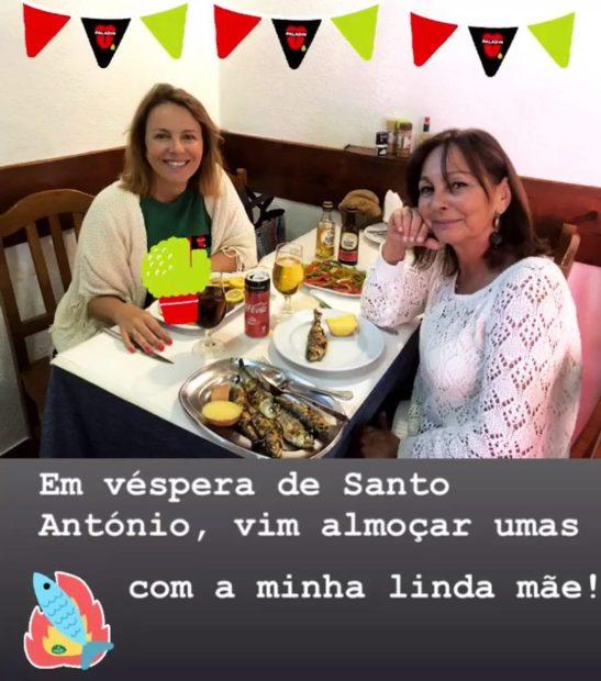 61722251 338628366789915 3995577213429654780 n Tânia Ribas de Oliveira comemora véspera de Santo António com companhia especial