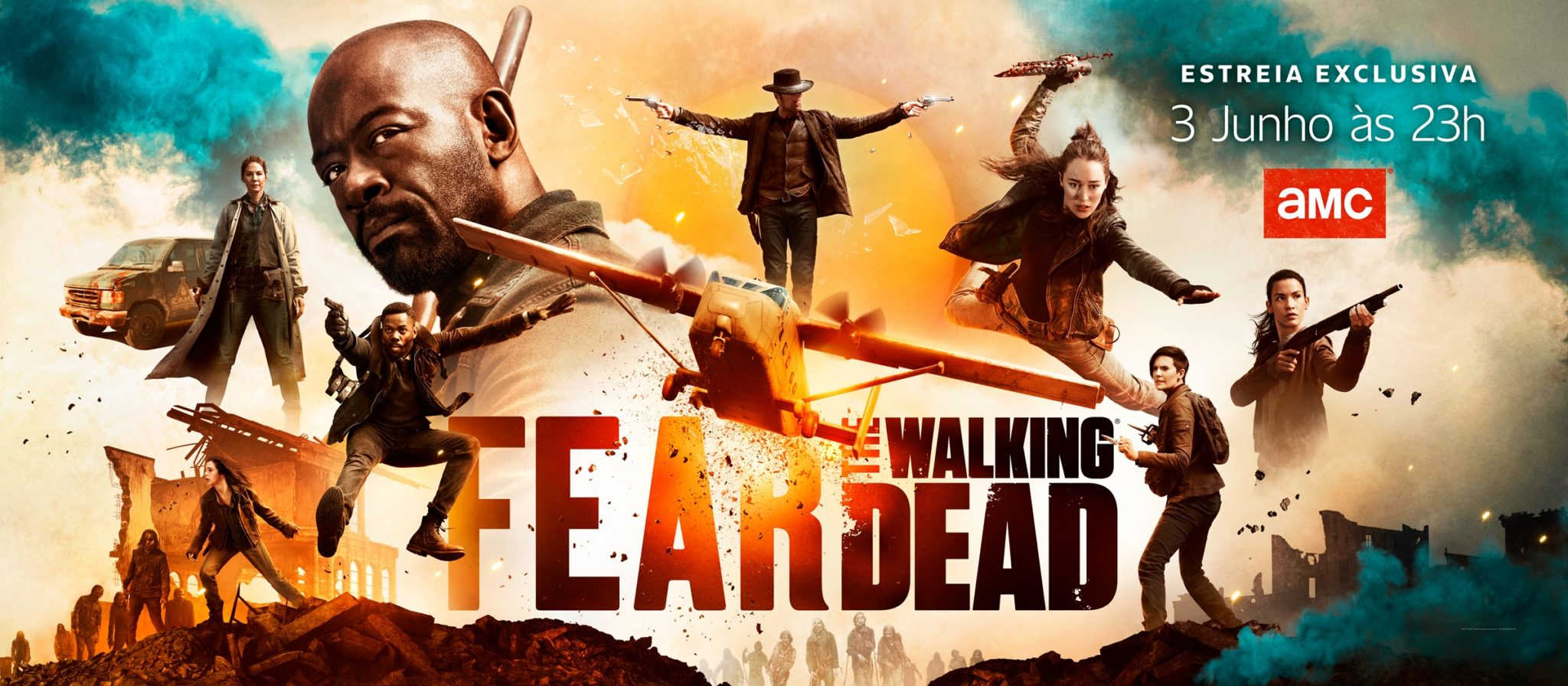 Fear The Walking Dead T5 Amc Estreia T5 De 'Fear The Walking Dead'