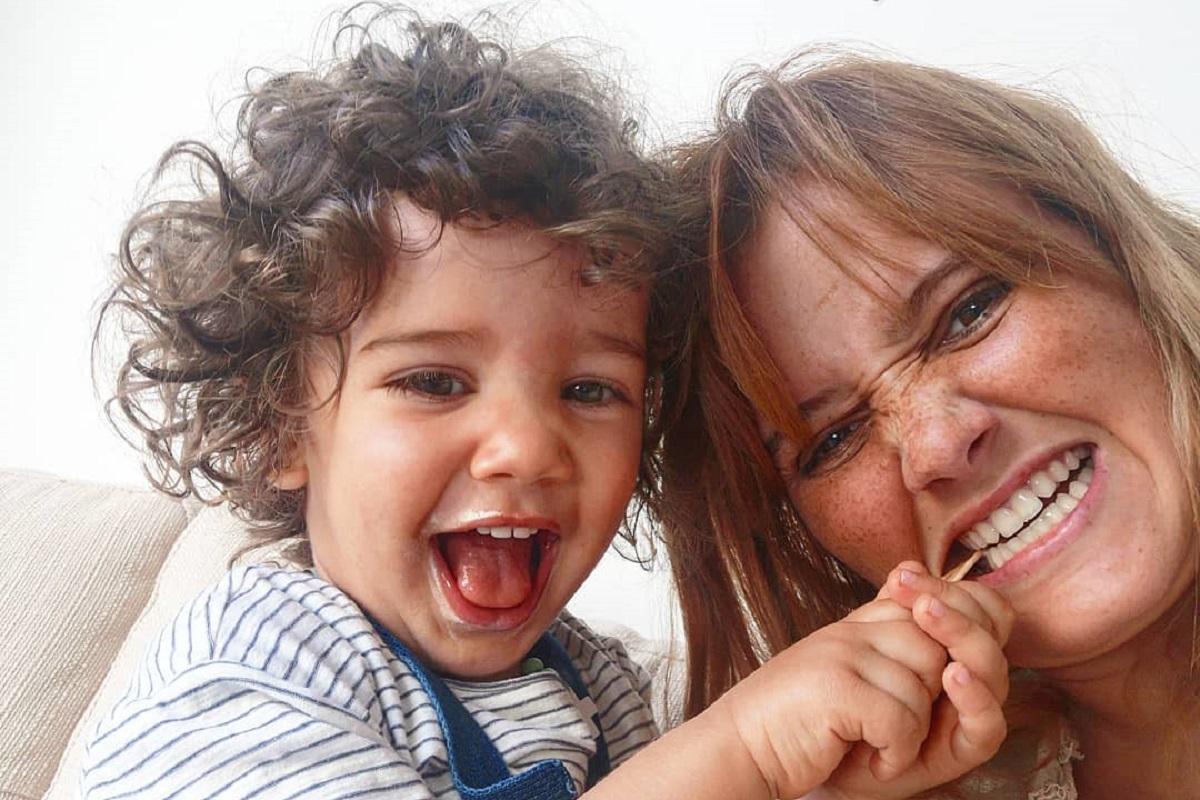 Carolina Deslandes Benjamim 1 Carolina Deslandes Encantada Com Atitude Do Filho: &Quot;Aguenta Coração&Quot;