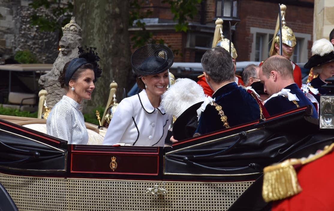 Kateleticia Bronca Real! Kate Acusada De Desrespeitar Rainha Letizia De Espanha