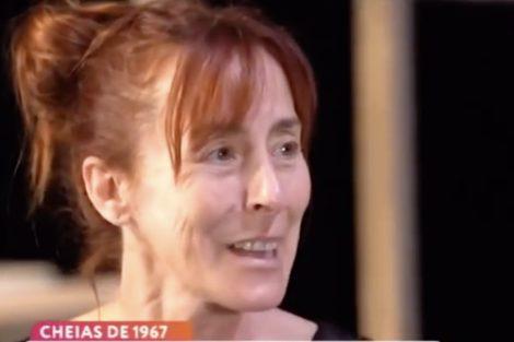 maria joao luis Maria João Luís lembra tragédia que matou 30 familiares