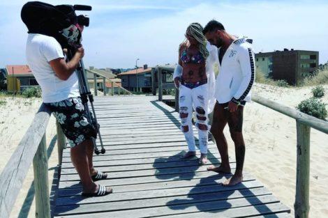 maria leal6 Maria Leal prepara novo videoclipe com Bruno Savate