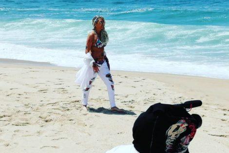 maria leal7 Maria Leal prepara novo videoclipe com Bruno Savate