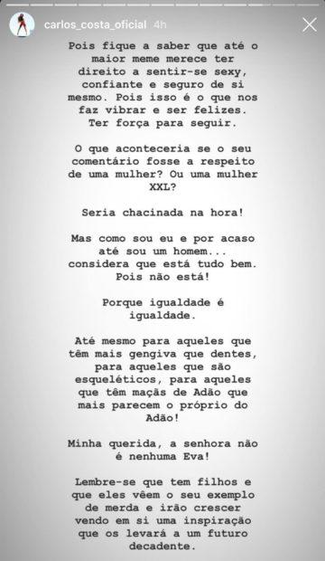 2 1 Carlos Costa Sente-Se Ofendido E Arrasa Comentadora Do 'Passadeira Vermelha'