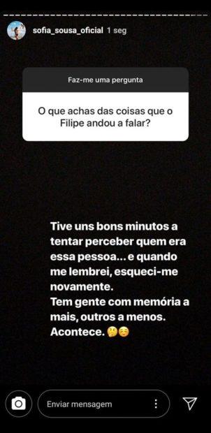 66447820 461208598025887 4346749002268540928 N Sofia Sousa Reage A Declarações Polémicas De Filipe Vilarinho