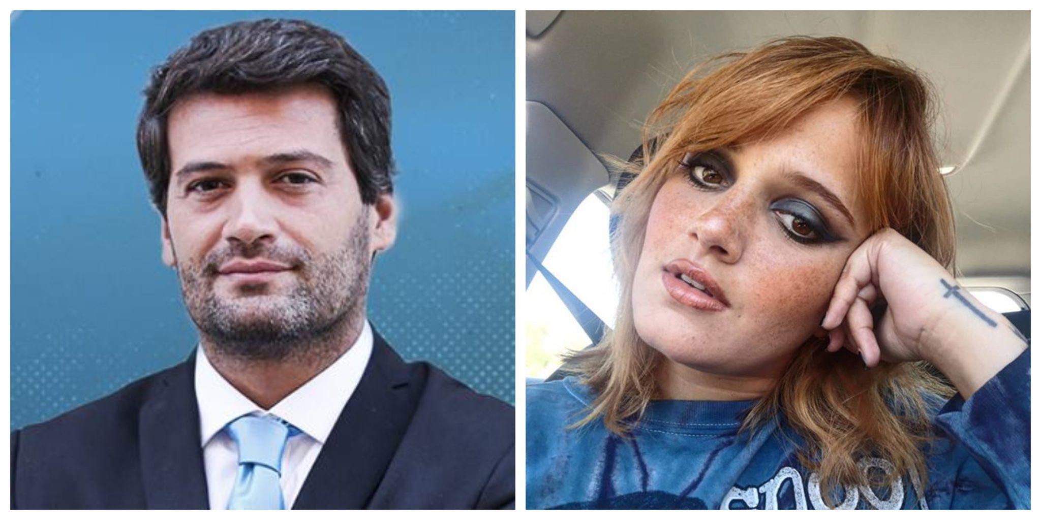 André Ventura E Carolina Deslandes Carolina Deslandes Crítica André Ventura: &Quot;Isto É Tudo Ilusório, É Tudo M****, É Mentira&Quot;