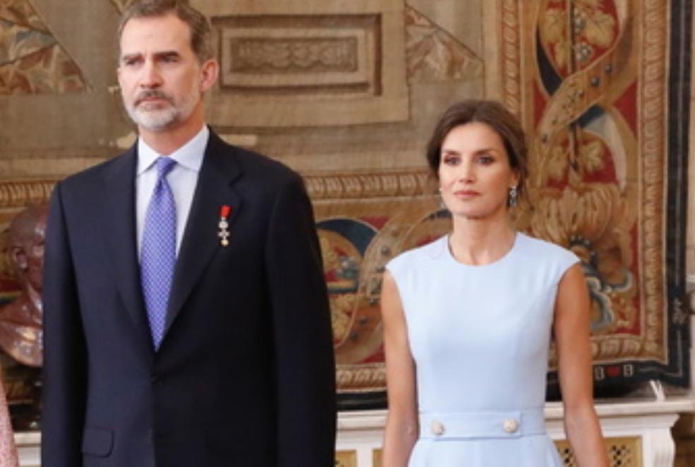 Screenshot 2019 07 15 At 17.49.14 Rainha Letizia Quebra Protocolo E É Chamada À Atenção Pelo Rei Felipe Vi