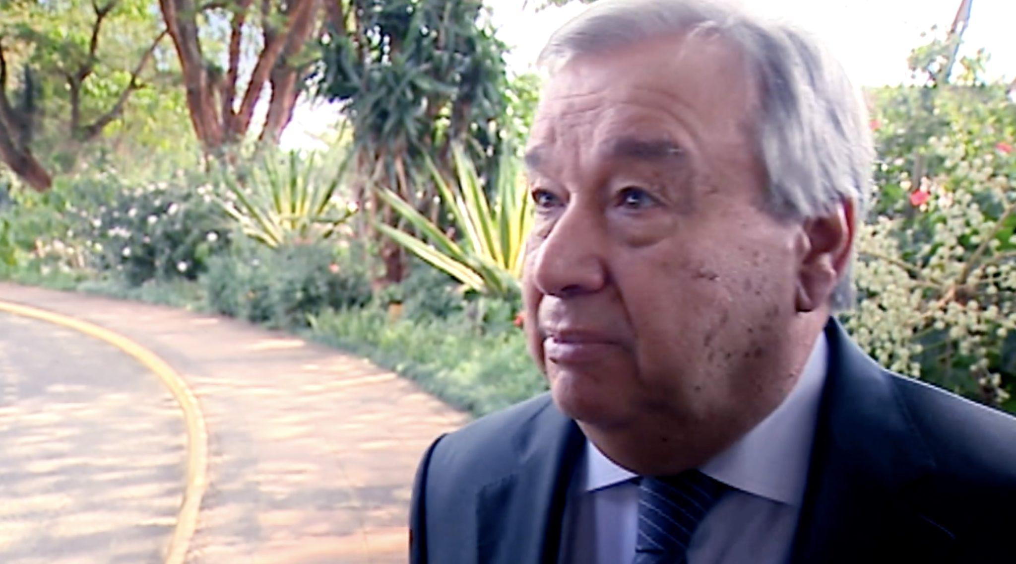 Antonio Guterres Rtp Entrevista Em Exclusivo António Guterres
