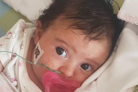 Bebe Matilde Matilde Receberá O Fármaco Que Pode Salvar A Sua Vida Esta Semana