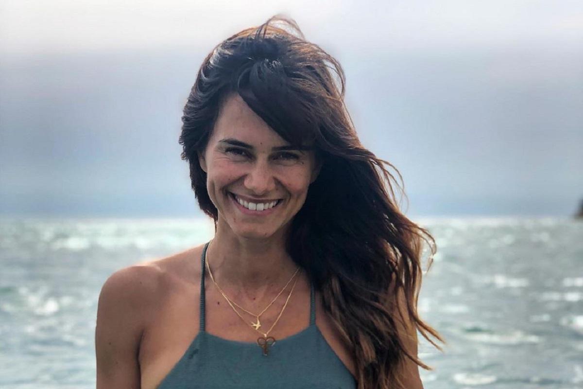 Claudia Vieira Cláudia Vieira Partilha Rara E Romântica Fotografia Com O Namorado