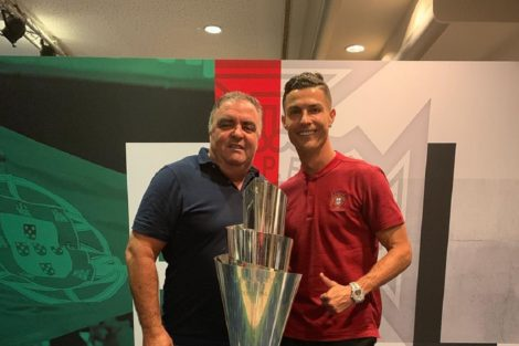 Cristiano Ronaldo Jose Andrade Companheiro De Dolores Aveiro Está De Baixa Há Cinco Anos