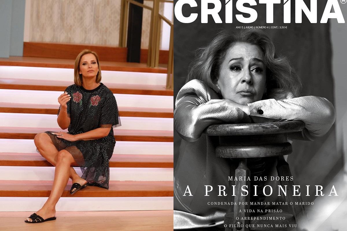 Cristina Ferreira Maria Das Dores Revista Cristina Cristina Ferreira Gera Polémica: &Quot;Protagonismo A Uma Assassina? Só Em Portugal&Quot;
