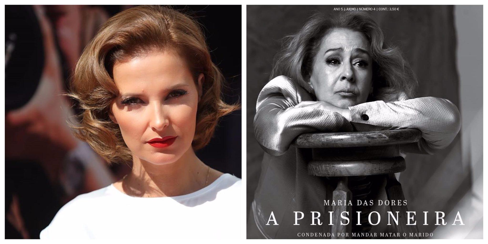 Cristina Ferreira Maria Das Dores Cristina Ferreira Na Prisão Para Entrevistar Mulher Detida Por Homicídio Do Marido
