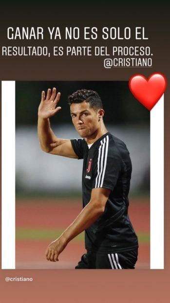 Gio A Mensagem Inspiradora De Georgina Rodríguez A Cristiano Ronaldo