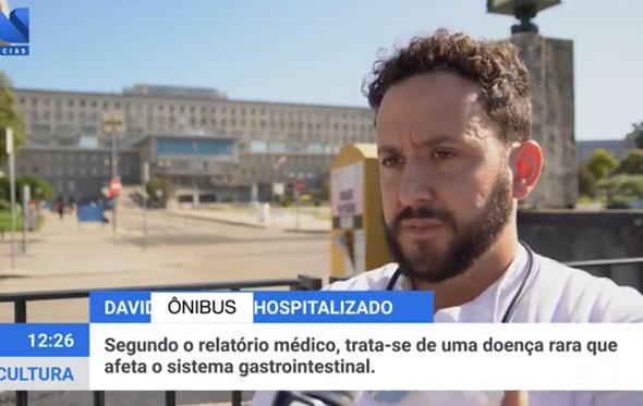 David Carreira Não Gostou De Brincadeira De Humorista