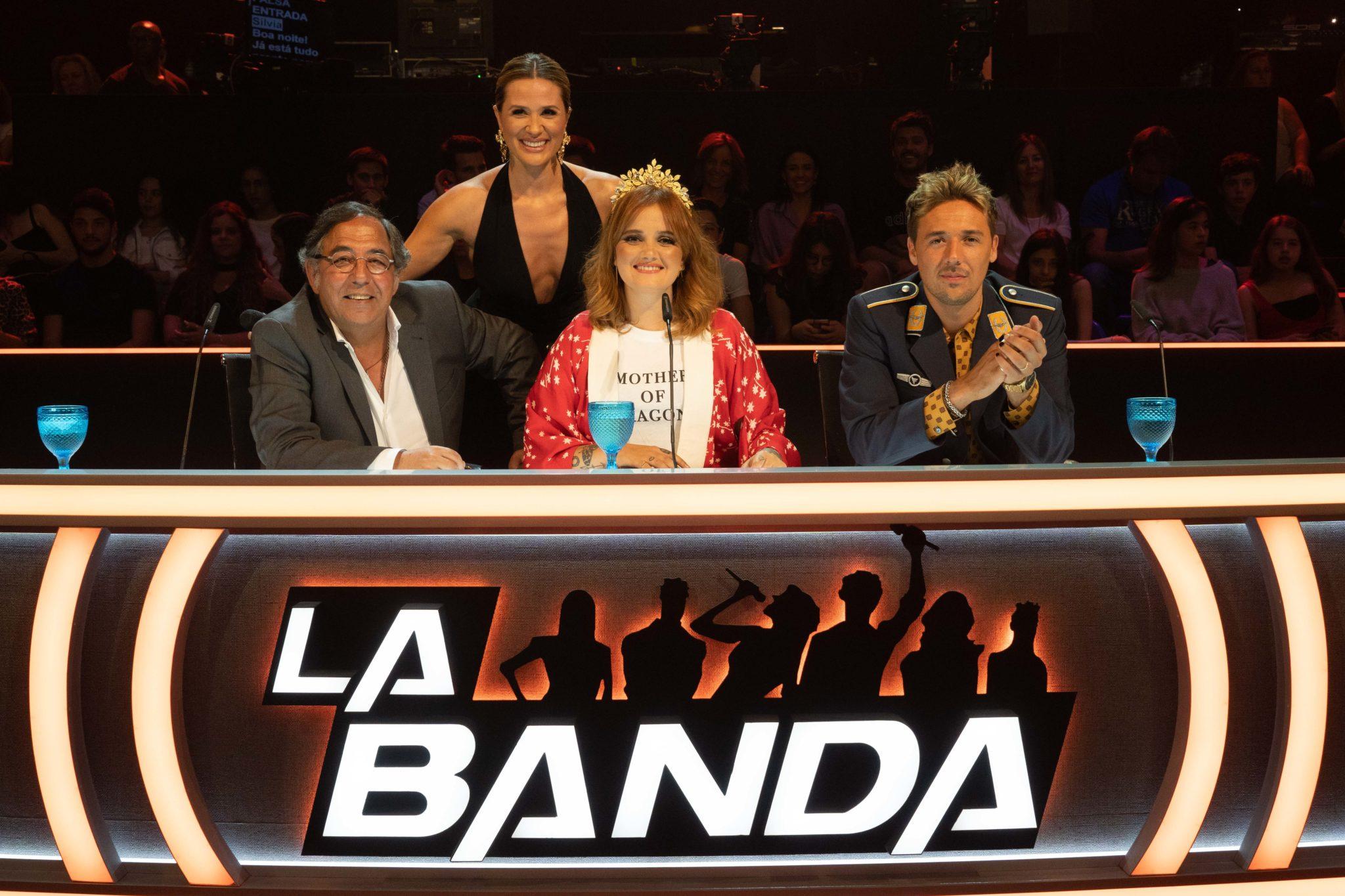 La Banda Silvia Alberto Jurados Banda Vencedora Do 'La Banda' Dá Concerto Em Lisboa Com Convidados Especiais