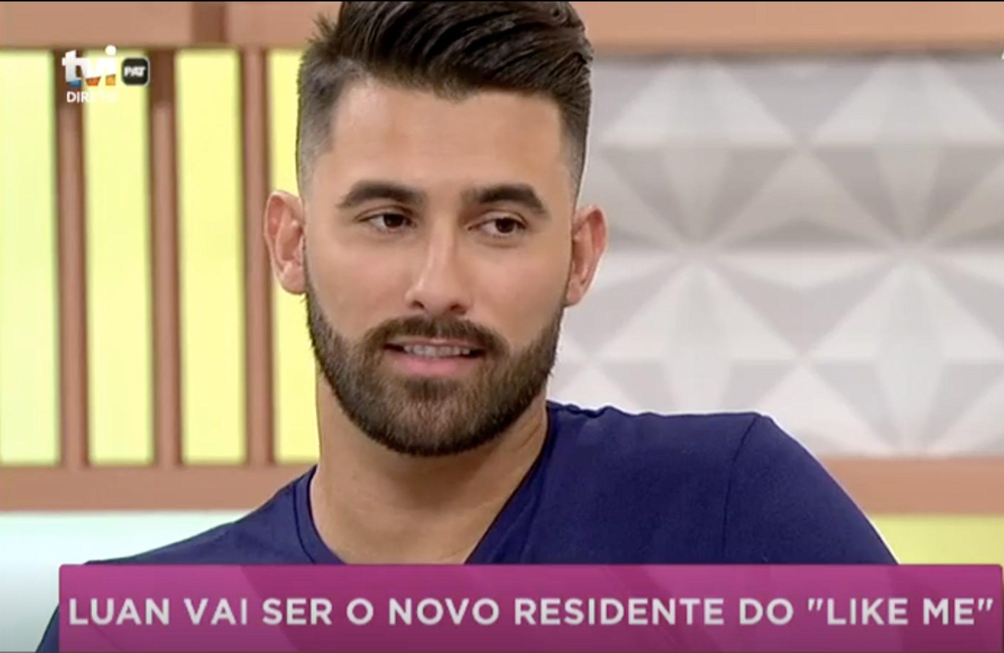 Like Me Luan Like Me: Luan Vai Entrar No Reality Show Da Tvi E Ser Adversário De Tiago