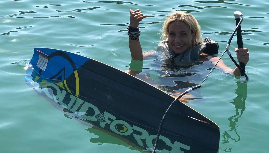 Luciana Abreu Wakeboard Luciana Abreu Estreia-Se Em Desporto Aquático: &Quot;Estou Com Tanto Medo&Quot;