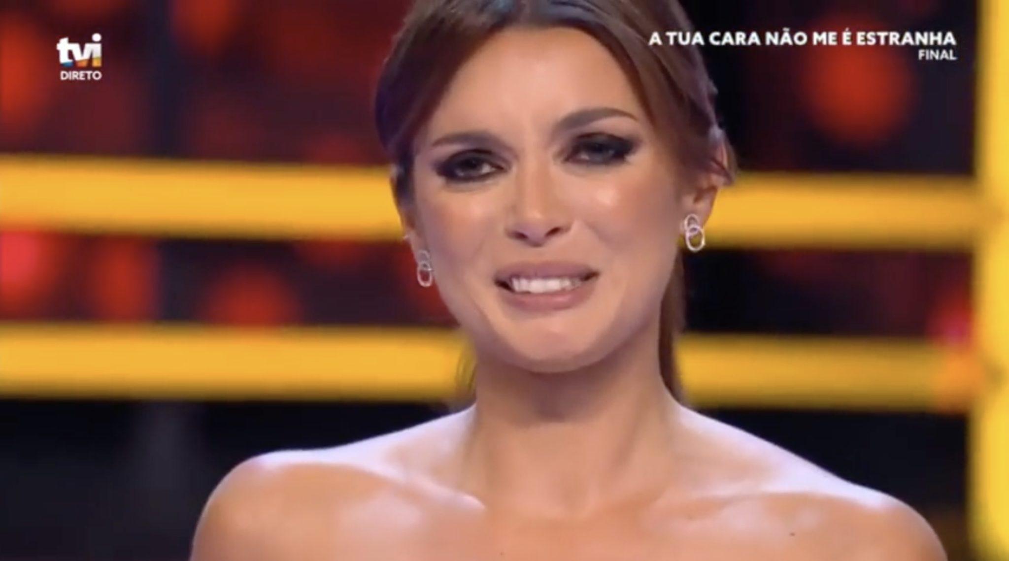 Maria Cerqueira Gomes 7 Maria Cerqueira Gomes Emociona-Se Na Final De 'A Tua Cara Não Me É Estranha'