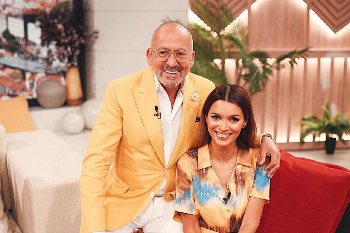 Maria Cerqueira Gomes Manuel Luis Goucha Goucha E Maria Cerqueira Gomes Arrancam 'Você Na Tv' De Modo Bem Original