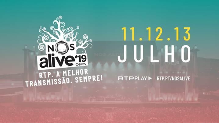 Nos Alive Rtp Nos Alive. Rtp Acompanha Festival Com Mega Operação