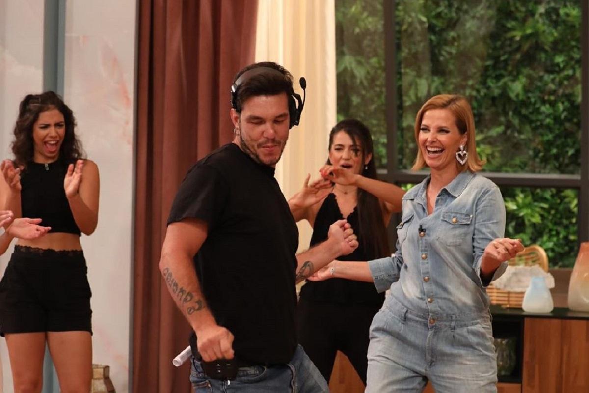 O Programa Da Cristina Ruben Vieira Cristina Ferreira Saltos Altos Tudo A Dançar De Saltos Altos! Até O Marido De Rita Ferro Rodrigues Se Juntou À Festa