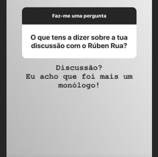 Transferir 36 'Like Me'. Wilson Teixeira Reage Ao Confronto Com Ruben Rua Durante Gala