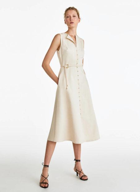 0134650712 1 1 2 Letízia Estreia Vestido Que Custa Menos De 100 Euros