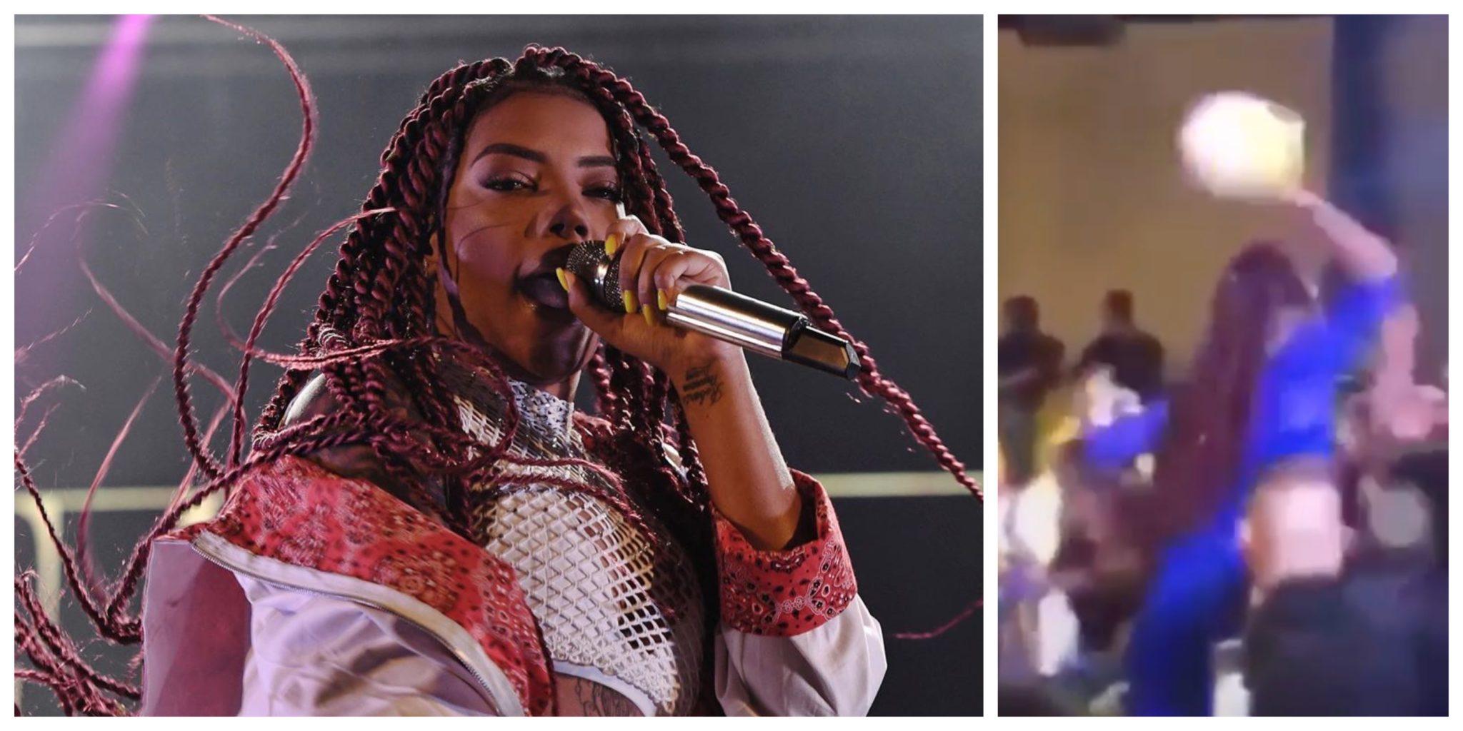Ludmilla Ludmilla 'Atacada' Por Fã Durante Concerto Em Portugal
