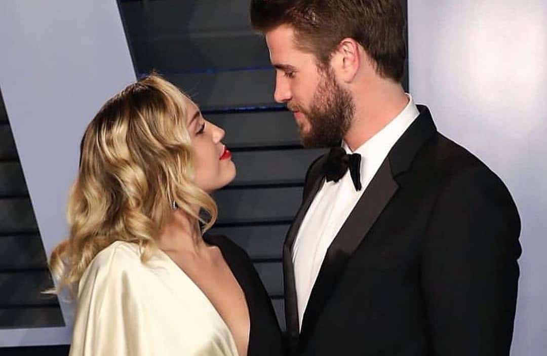 Miley Cyrus Liam Hemsworth 1