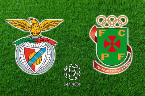Benfica Pacos De Ferreira Benfica X Paços Ferreira Em Direto Na Benfica Tv