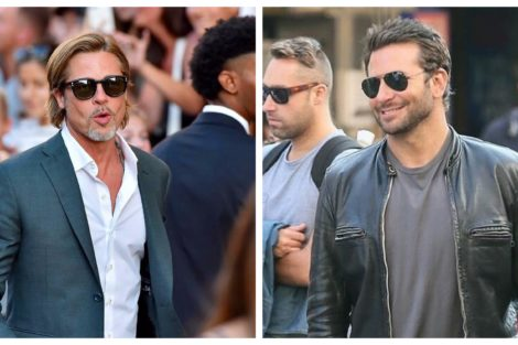 brad pitt bradley cooper Brad Pitt e Bradley Cooper juntos em saída a dois