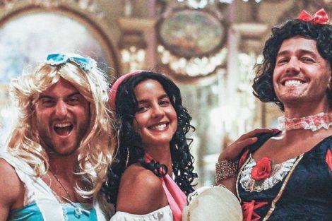 Sara Matos Teixeira E Teotónio Pereira Famosos Vestem-Se Com Personagens Da Disney Para Festa De Aniversário