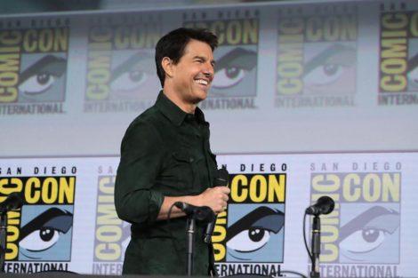 Tom Cruise Tom Cruise Aparece Publicamente Com Filho Adotivo