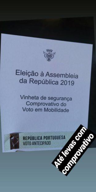 69610971 1891668314311619 2978608412402377523 N Famosos Já Votaram Nas Legislativas