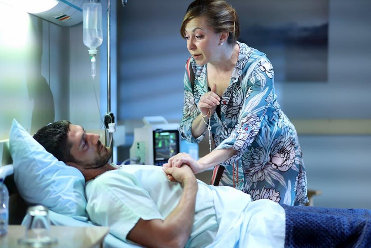 A ficção tornou-se real! As imagens de Ângelo Rodrigues no hospital
