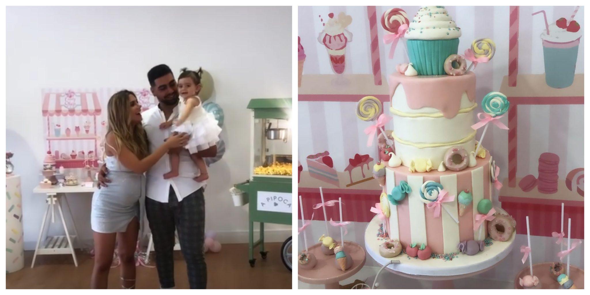 Daniel Gregório e Liliana Filipa As imagens da festa de aniversário da filha de Liliana Filipa