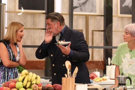 Cristina Ferreira Matt Preston Joana Barrios Ups! Cristina Ferreira Engana-Se E Chama Gordo Ao Chef Matt Preston